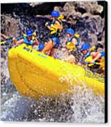 Whitewater Thrill Ride Canvas Print by Thomas R Fletcher