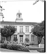 Whittier College Hoover Hall Canvas Print by University Icons