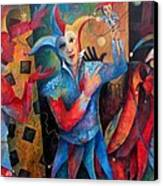 Who's The Fool. Canvas Print by Susanne Clark