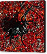 Wicked Widow - Rouge Canvas Print by Al Powell Photography USA