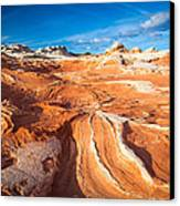 Wild Sandstone Landscape Canvas Print by Inge Johnsson