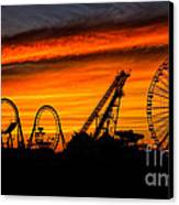 Wildwood At Dawn Canvas Print by Mark Miller