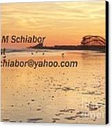 Wildwood Sunset Canvas Print by Eric  Schiabor