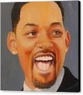 Will Smith Canvas Print by Shirl Theis