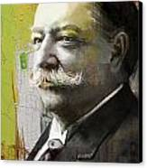 William Howard Taft Canvas Print by Corporate Art Task Force