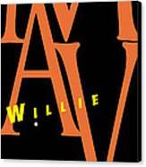 Willie Mays Canvas Print