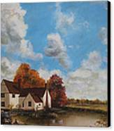 Willy Lott's Cottage Canvas Print by Cecilia Brendel