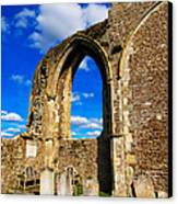 Winchelsea Church Canvas Print by Louise Heusinkveld