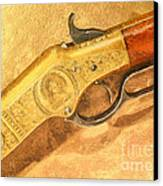 Winchester 1866 Yellow Boy Rifle Canvas Print