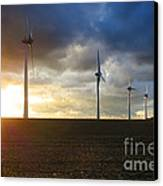 Wind And Sun Canvas Print by Olivier Le Queinec