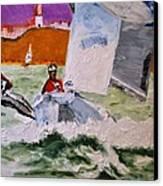 Wind Chaser Canvas Print by Ruben Barbosa