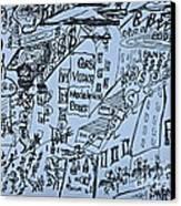 Wind Of Change 2014. Poezja I Sztuka Jest Wspolnym Jezykiem Swiata  Canvas Print