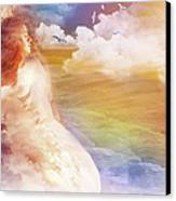 Wind Of His Glory Canvas Print by Jennifer Page