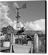 Windmill Canvas Print by Gordon  Grimwade