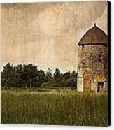 Windmill Canvas Print by Lesley Rigg