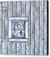 Window Canvas Print by Juli Scalzi