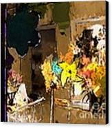 Window Dressing As Still Life Canvas Print by Arne Hansen