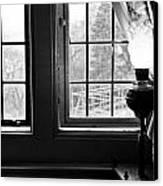 Window Canvas Print by Fatemeh Azadbakht