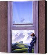 Window Of Dreams Canvas Print