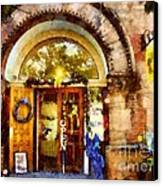 Window Shopping  Canvas Print by Janine Riley