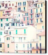 Windows Of Cinque Terre Italy Canvas Print
