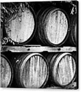 Wine Barrels Canvas Print by Scott Pellegrin