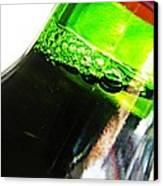 Wine Bottle Canvas Print by Sarah Loft