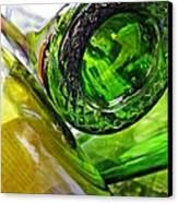 Wine Bottles 6 Canvas Print by Sarah Loft