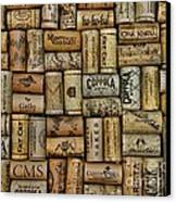 Wine Corks After The Wine Tasting Canvas Print by Paul Ward