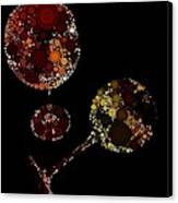 Wine Glasses  Canvas Print by Cindy Edwards
