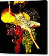 Wine Maid Prosecco Poster Canvas Print by Jerry Schwehm