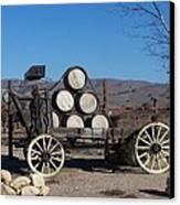 Wine Wagon Canvas Print
