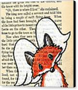 Winged Fox Canvas Print