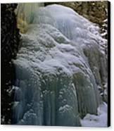 Winter At Zapata Falls Canvas Print