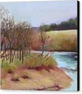 Winter Creek                  Copyrighted Canvas Print