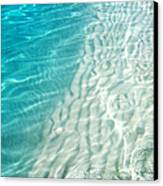 Winter Desire. Water Meditation. Five Elements. Healing With Feng Shui And Color Therapy In Interior Canvas Print by Jenny Rainbow
