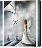 Winter Fairies By Shawna Erback Canvas Print by Shawna Erback