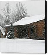 Winter In Galena Canvas Print