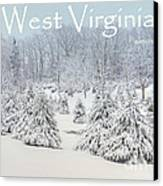 Winter In West Virginia Canvas Print by Benanne Stiens