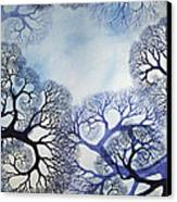Winter Lace Canvas Print