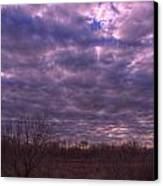 Winter Mood Canvas Print by Kelly Kitchens