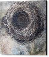 Winter Nest Canvas Print