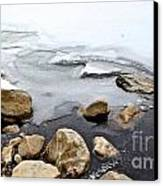 Winter Quabbin Canvas Print