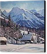 Winter Reverie Canvas Print
