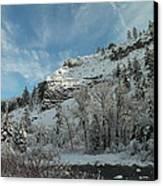 Winter Scene Canvas Print by Jeff Swan
