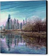 Winter Serenity Deep Canvas Print by Doug Kreuger