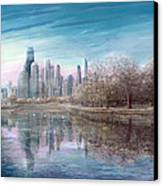 Winter Serenity Frost Canvas Print by Doug Kreuger