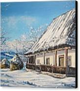 Winter Shine Canvas Print