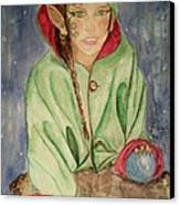 Winter Solstice Canvas Print by Carrie Viscome Skinner