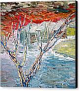 Winter Sunset Canvas Print by Vadim Levin